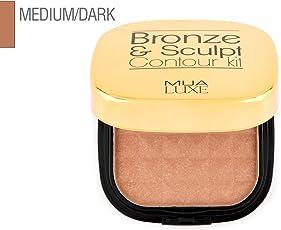 Makeup Academy Luxe Bronze and Sculpt Kit, Medium/Dark, 20g