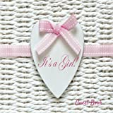 It's A Girl Guest Book: Baby Shower Message Book, Keepsake, With 100 Formatted Lined & Unlined Pages With Quotes, Photo Pages, Gift Log For Family And ... Paperback: Volume 10 (Newborns Guest Book)