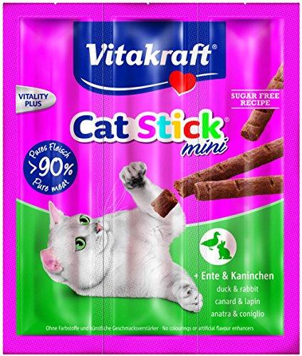 Vitakraft  Katzensnack  Cat Stick® mini  Ente&Kaninchen, ( 20er Pack ) - Kleinen Die Schweine Drei Spanisch In