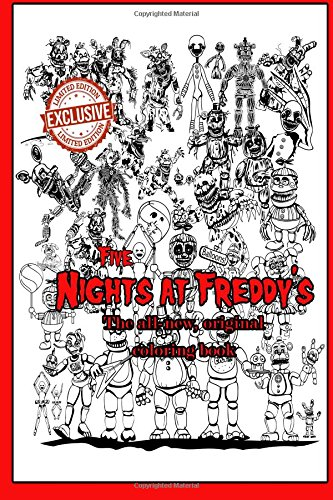 Five Nights at Freddy's - The all-new, original coloring book por Phone Guy