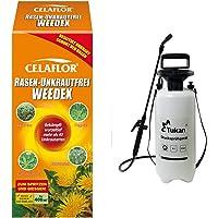 Celaflor 3579 Rasen-Unkrautfrei Weedex, Hochwirksamer Unkrautvernichter zur Bekämpfung, 400 ml Flasche & TUKAN…