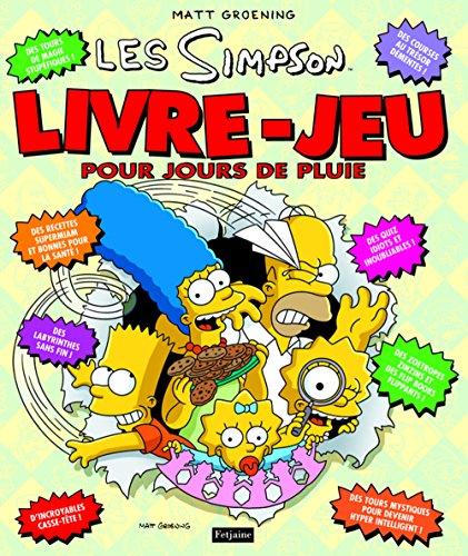 Les Simpson. Livre jeu pour jours de pluie