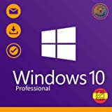 Windows 10 Pro (Professional) 32 / 64 bits Licencia | Windows 10 Home Upgrade | Clave de Activación Original | Español | 100%
