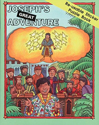 Joseph's great adventure : re-usable sticker puzzle book