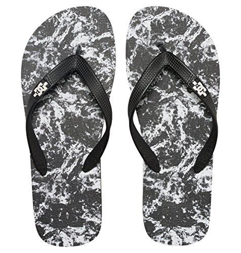 Dc Shoes Spray Graffik D0303276, Infradito Uomo Noir - Black/Splatter