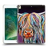 Head Case Designs Offizielle Steven Brown Huey Mccoo Hochland Kuh Sammlung 1 Ruckseite Hülle für iPad Pro 12.9 (2017)