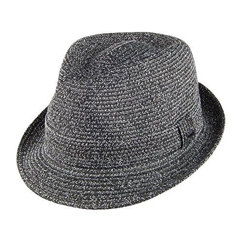 Chapeau Trilby Billy noir-blanc BAILEY Noir-Blanc