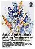Ursus 7004000 - Schul Aquarellblock A3, 150 g/qm, 10 Blatt, hochweiß