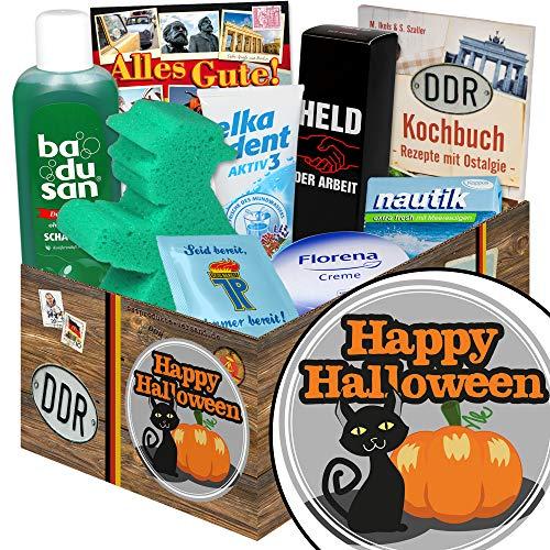Happy Halloween | Pflegeset | Ostalgie Set | Halloween Geschenkbox
