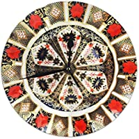 gardenia store Traveller Pavee Gypsy Romany Old Imari 1128 1977 Pattern Crown Derby Round Home Decor Wall Clock 9.84inch