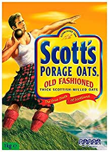 Scotts Old Fashioned Oats 1 kg (Pack of 12)