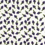 Stoff Meterware, Lavendel klein, Baumwolle, Blumen,