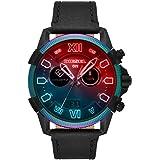 Diesel Full Guard 2.5 Men's Multicolor Dial Leather Digital Smartwatch - DZT2013
