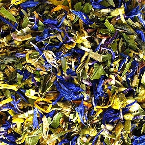 amapodo Kräutertee Mischung 80g gesund und lecker, ideal für die Teekanne, Kräuter Tee hergestellt in Deutschland
