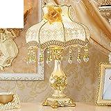 European-Style Schlafzimmer Nachttisch Lampen/Vintage Gartenleuchte/ Hochzeit der Prinzessin Zimmer Tischleuchte Leben-C