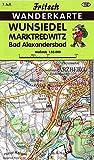 Wunsiedel - Marktredwitz - Bad Alexandersbad (Fritsch Wanderkarten 1:35000) -