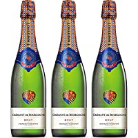 Francois Martenot Cremant - Pack de 3 Botellas de 0.75 l - Total: 2.25 l