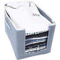PrettyKrafts Shirt Stacker Closet Organizer - Shirts and Clothing Organizer - Exile (Single) - Grey
