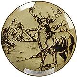 Mossy Oak Animal Print Salatteller mit Hirsch-Motiv, 21,6 cm