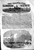 Guerre 1854 Russe de Port de Portsmouth de Bateau de Bateau d'Argus...