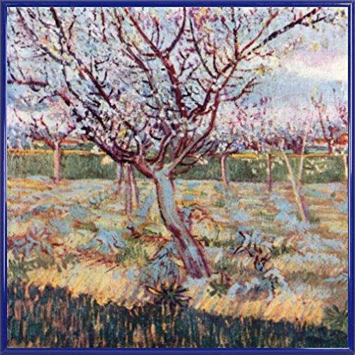 vincent-van-gogh-poster-impresion-artistica-con-marco-plastico-florecimiento-de-arboles-1888-40-x-40