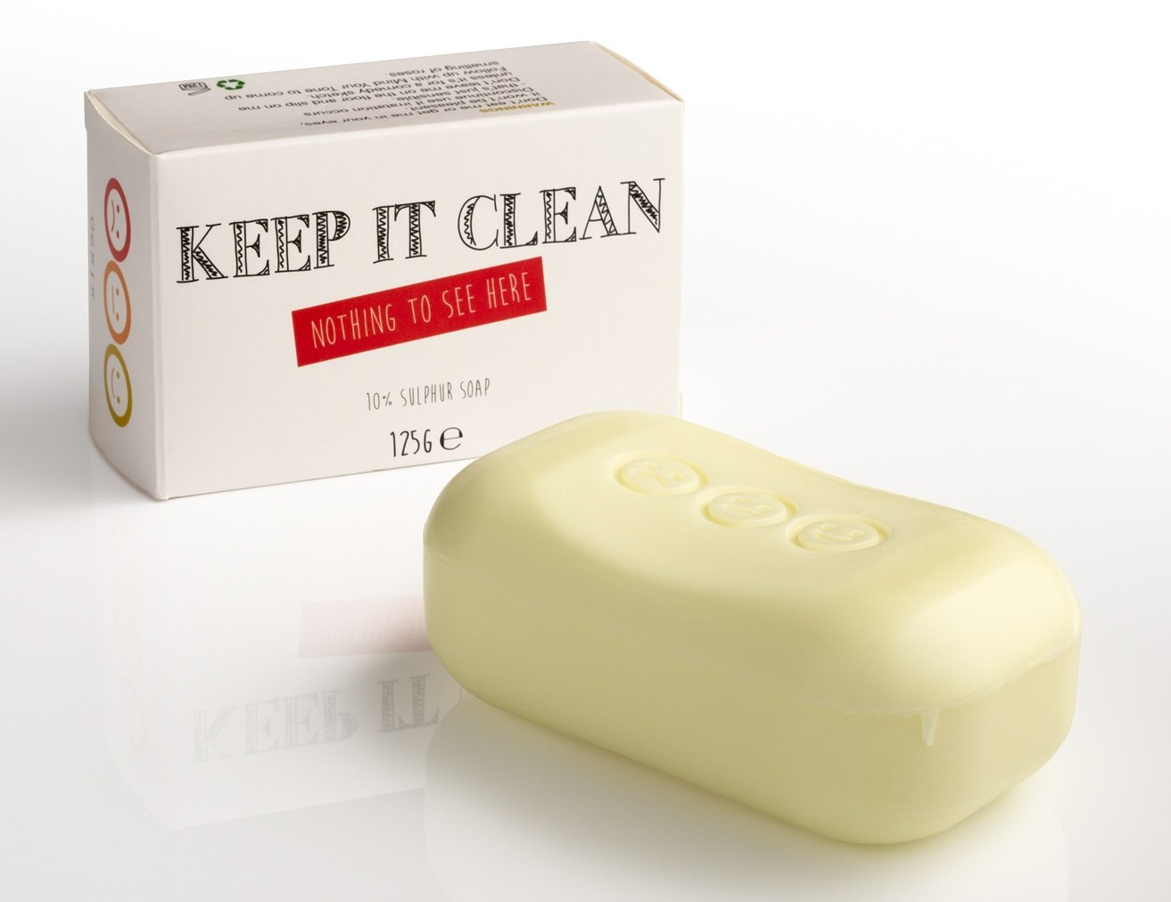 Keep it Clean – 10% Sulphur Soap – whytheface