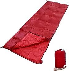 GEERTOP Daunenschlafsack Schlafsack Warm Leichtgewichtiger Komfort 10 C / 50 F mit tragbarem Sack für Innenisolierung und Outdoor Wandern Rucksack und Camping