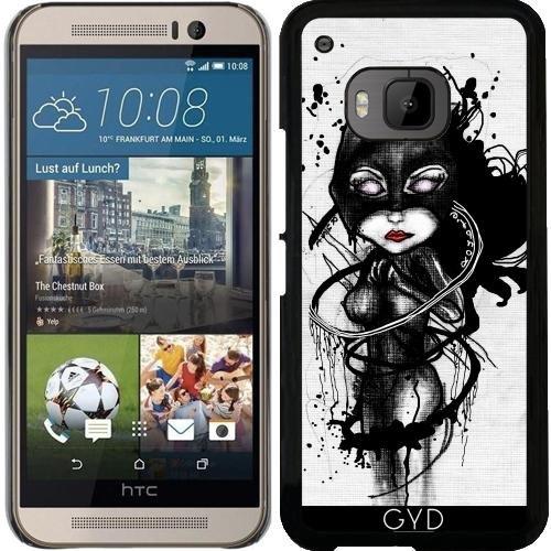 (DesignedByIndependentArtists Hülle für HTC One M9 - Krallen Lynx by Rouble Rust)
