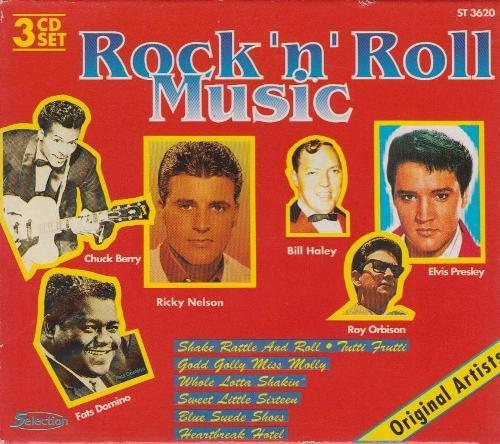 Rock'n'Roll Music - Original Artists (3 CD-Set) - Berry Schatz