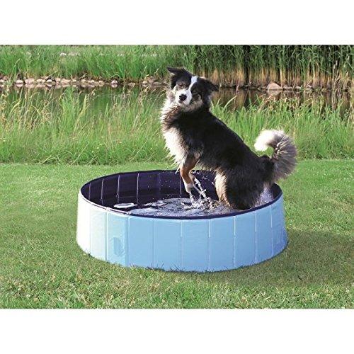 Trixie 39481 Hundepool, hellblau/blau