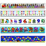 Children's Alphabet & Numbers Wall Frieze Pack