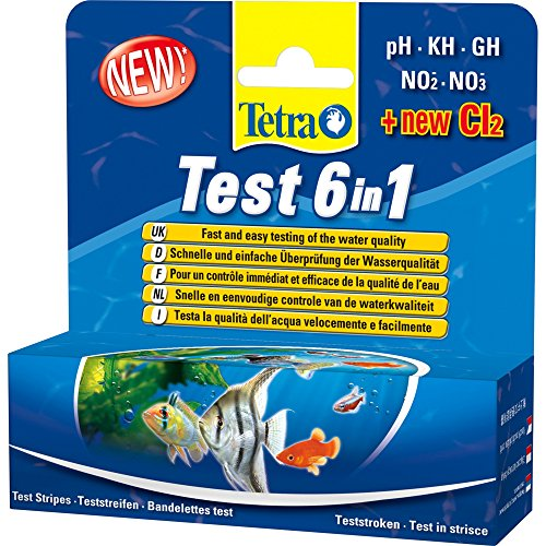 Tetra 6 In 1 Test Strips (Pack Of 25)