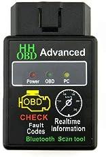 NaiCasy Mini-ELM327 Bluetooth V2.1 OBD2 Auto kann Wireless Adapter Scanner Tool