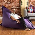 BAZAAR BAG � - Giant Beanbag PURPLE -...