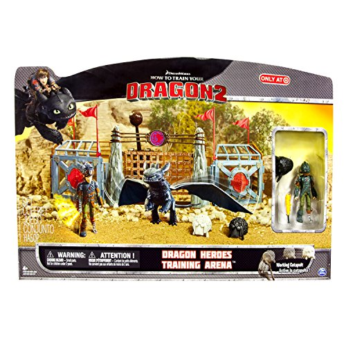 Dragons Spin Master Dreamworks 6023193 Arena Play set