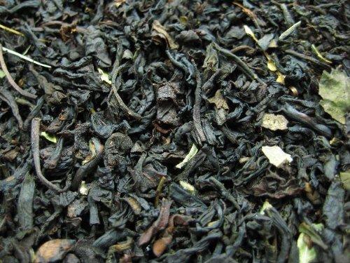 BLACK CURRANT – Aromatisierter schwarzer Tee – in Silver Dose (Teedose) – 90x90x112mm (200g)