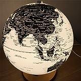 Globo terrestre LED English diámetro 25cm REGALO Decoración lámpara de oficina doméstica
