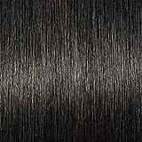 100 Extension Capelli Veri con Cheratina Ciocche 55cm #1 Jet Nero I Tip - 100% Remy Human Hair Extension Keratina Capelli Lunghi Lisci