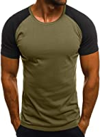 Daylin Newest Personality Fashion Men's Casual Fitness Daily Slim Soft Popular Camouflage Printed Short Sleeve T Shirt...