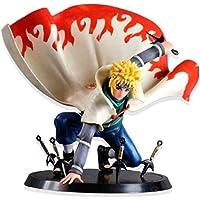 Modèle Cadeau Cadeau Créatif 16cm Figure Toy Naruto Namikaze Minato Figurine Statue Collections (16cm Coloré)