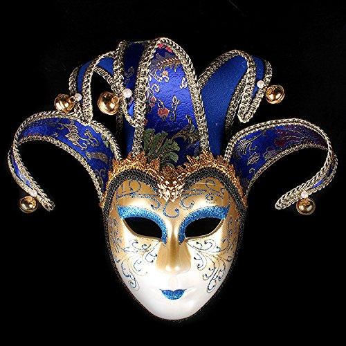 Kc-1981 K&C Handgemalte Halloween Masquerade Venedig Party Lace Maske ()