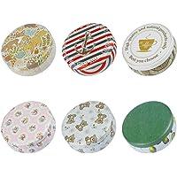 TooGet Boîtes Vides élégantes De Fer-Blanc en Métal, Récipients De Stockage De Cuisine à La Maison, Mini-boîtes pour des…