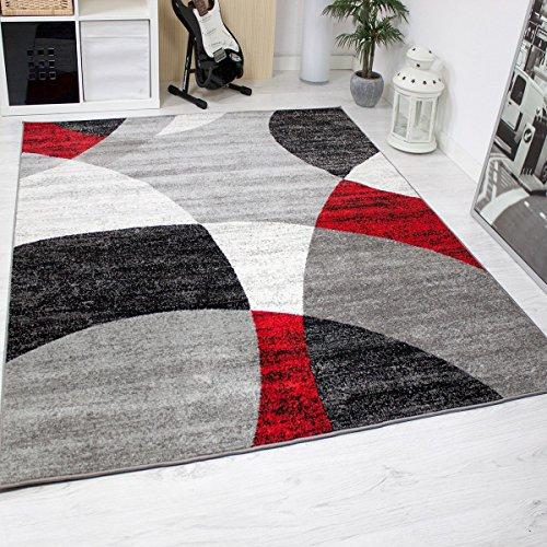 Tapis salon chambre coucher g om trique motif cercles for Moquette motif geometrique