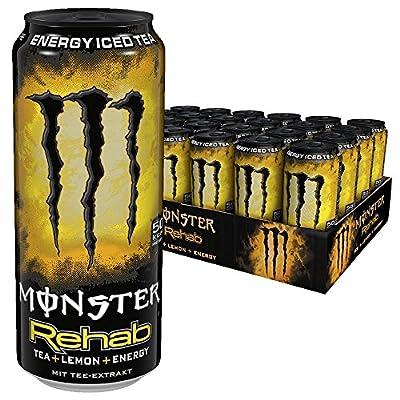Monster Rehab Lemon, 24er Pack, Einweg (24 x 500 ml)