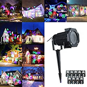 King Do Way Kit De 10 Motifs Led Projecteur Ext Rieur