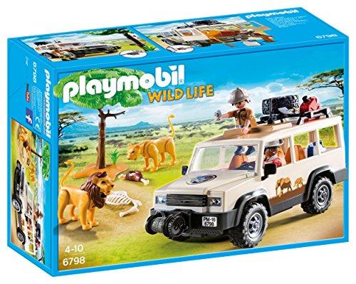 Playmobil 6798 - Fuoristrada Nella Savana con Leoni