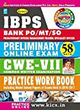 Kiran's IBPS Bank PO/MT/SO Preliminary Online Exam 58 Sets CWE-VII Practice Work Book - KP 1947