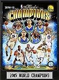 Encore NBA Golden State Warriors California 2015World Champions Team Photo Single Bild Plaque, Schwarz, 22,9x 30,5cm