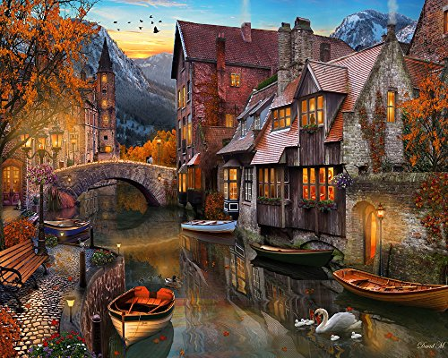 Vermont Christmas Company Autunno Canale Puzzle 1000 Pezzi