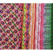 """Multicolor de algodón acolchado Material de 44 """"de ancho, hacer a mano Tela de costura Por El Metro"""